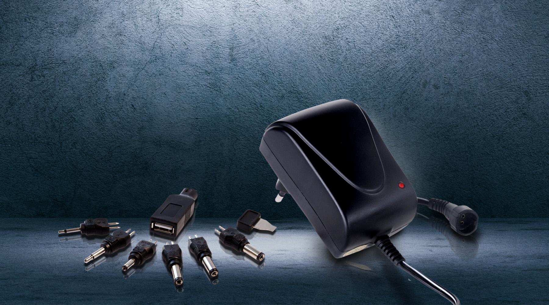 Universal plug-in power supplies