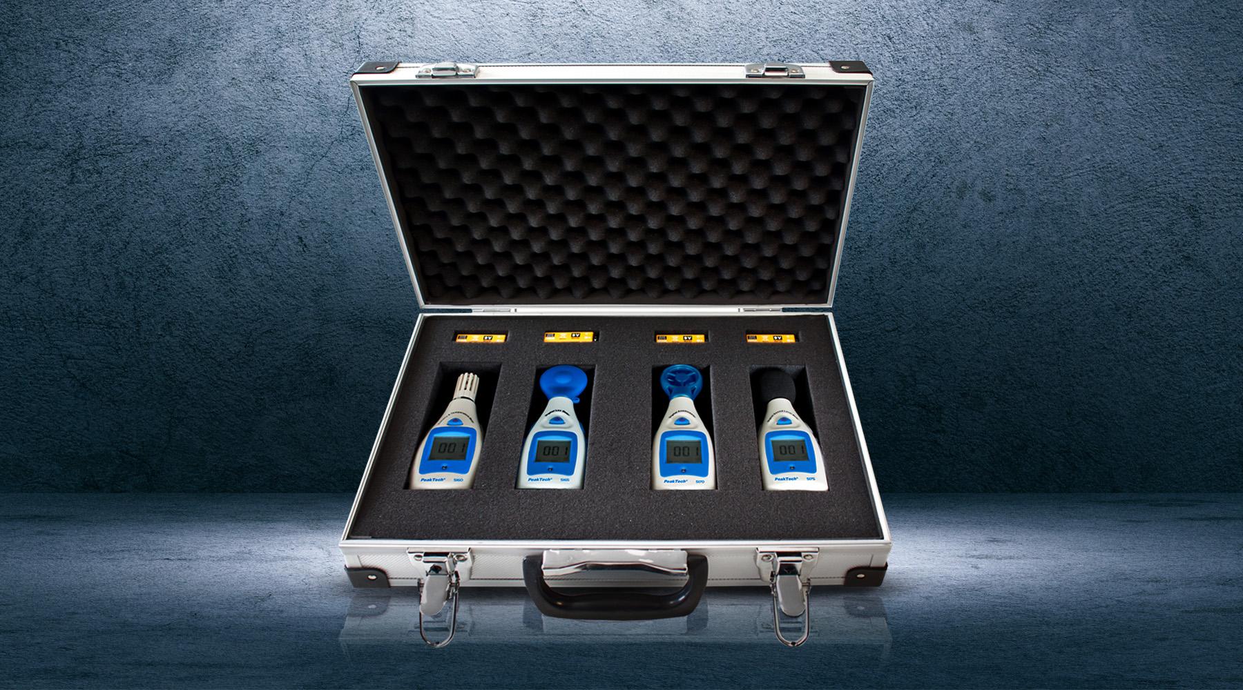 Environmental measuring devices