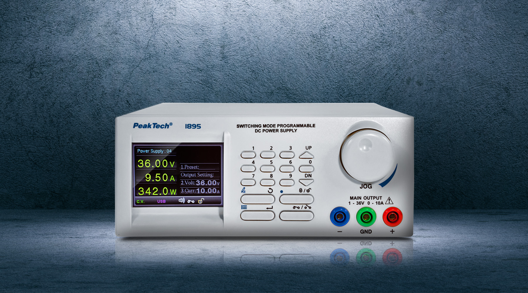 Programmable switching power supplies