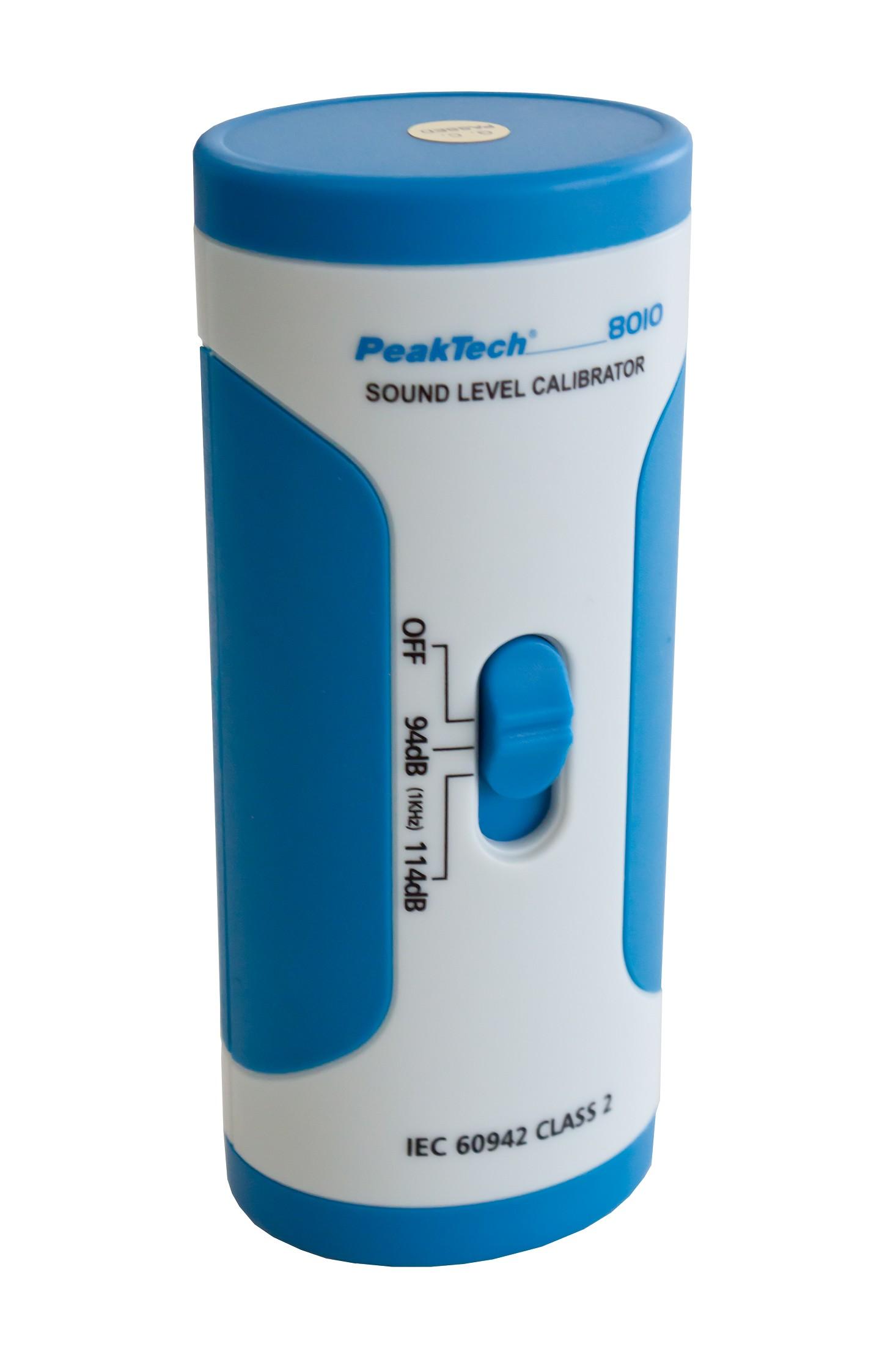 «PeakTech® P 8010» Sound Level Calibrator, 94 dB/114 dB