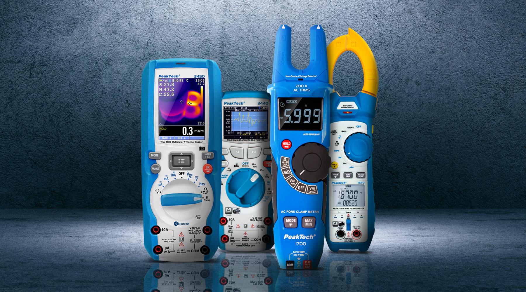 Ammeter according to DIN EN 61010-1 (VDE 0411-1)