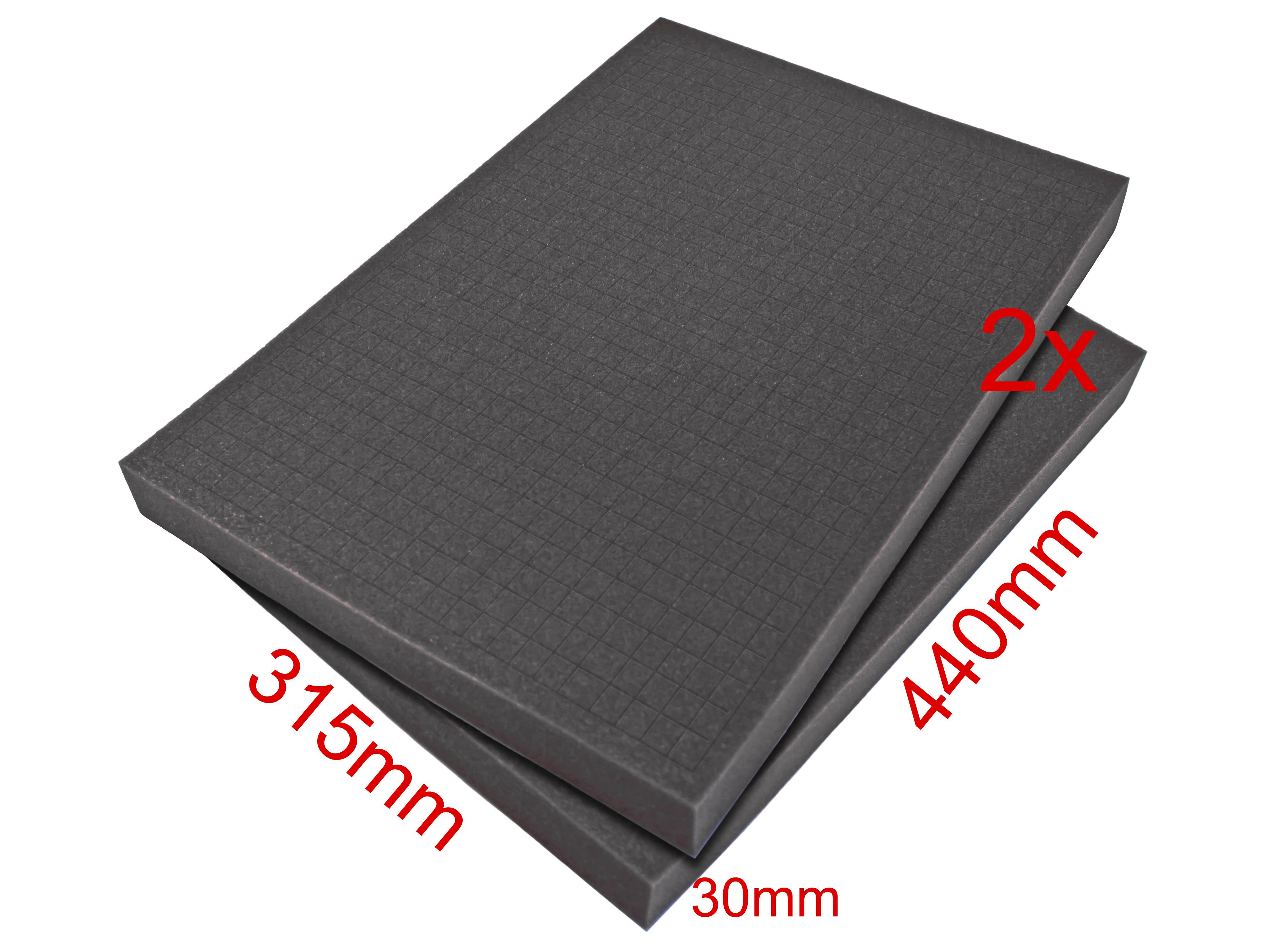 «PeakTech® P 7310 S» foam for aluminum case P 7310 (2 pcs.)