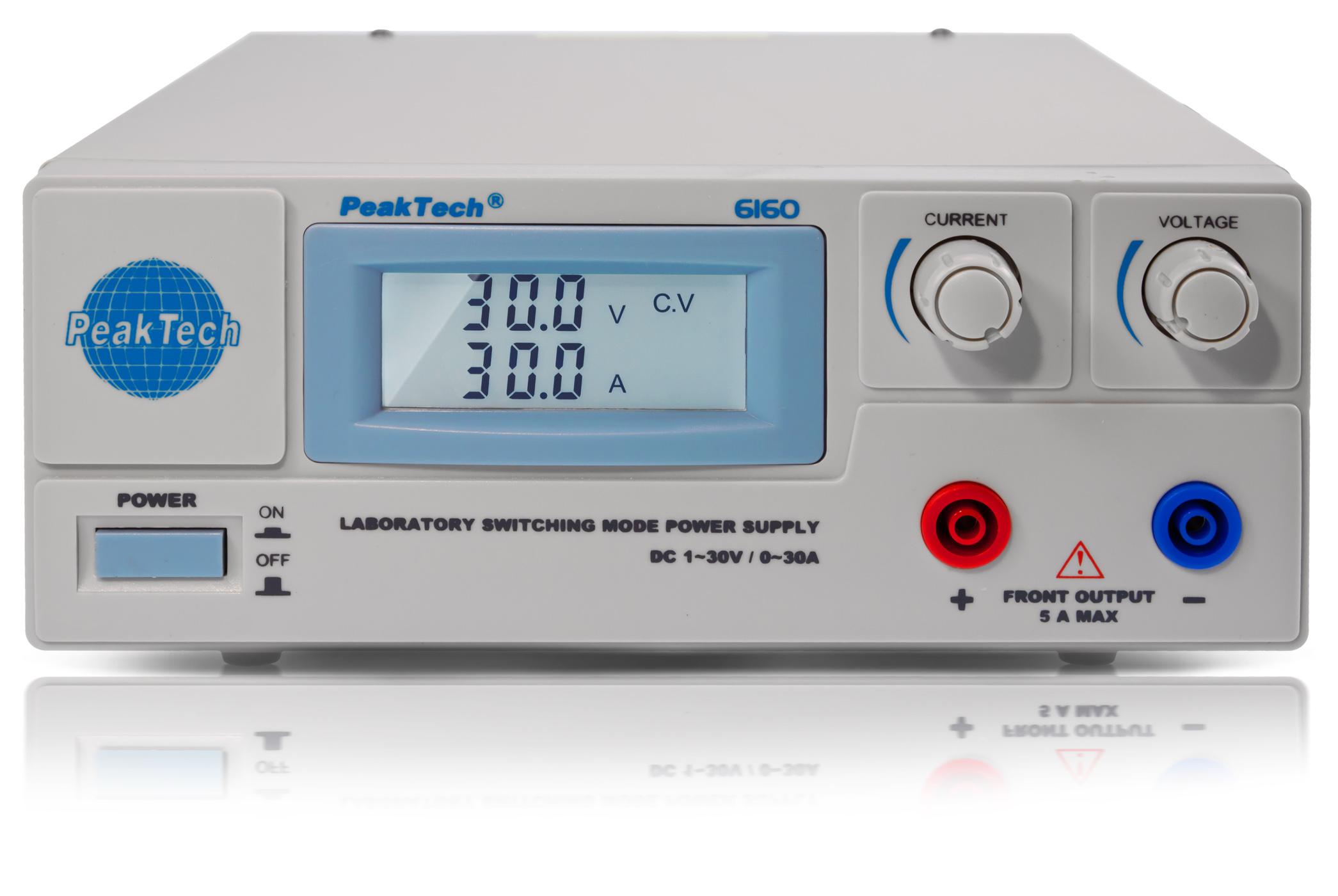 «PeakTech® P 6160» Laboratory Switching Mode Power Supply